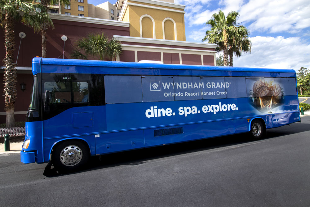 Wyndham Grand Bonnet Creek Bus Design