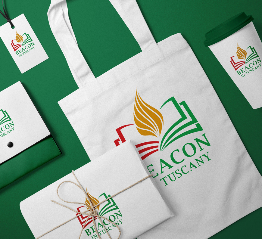 Beacon in Tuscany Brand Identity