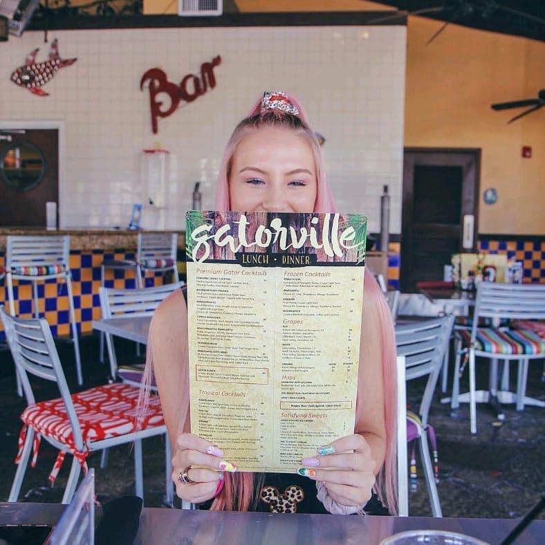 Gatorville Restaurant Menus